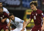 Bez Ikaunieka izlase tomēr nepaliek: Stojanovičs pirms otrās spēles izsauc Jāni Ikaunieku