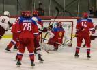 U18 hokejisti atspēlējas no 1:3, bet zaudē Krievijai <i>bullīšos</i>