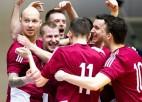 Nosaukti Latvijas telpu futbola izlases kandidāti divām mājas spēlēm