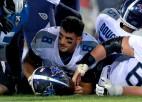 """""""Jaguars"""" <i>izārda</i> """"Titans"""" uzbrukumu un tiek pie pirmās uzvaras sezonā"""