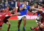 Krievija labāka puslaikā, taču mazākumā izlaiž uzvaru pret Samoa