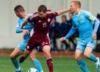 U19 izlase izbauda realitāti: seši vārti pirmajā puslaikā un 2:8 pret Nīderlandi