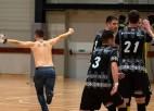 Tukumā atkal joņo <i>strīkeris</i>, debitante RSU/BAO pārsteidzoši uzvar Daugavpilī