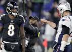 """""""Patriots"""" pirmais zaudējums, """"Dolphins"""" – pirmā uzvara"""