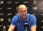 """Video: Ingus Panteļejevs: """"Komanda progresē, agri vai vēlu punktiem būs jānāk"""""""