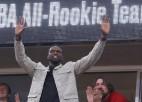 Labu NBA karjeru aizvadījušais Dengs - Dienvidsudānas federācijas prezidents
