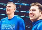 Video: Dončiča un Porziņģa sadarbība iekļauta NBA labākajos momentos