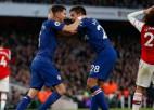 """""""Chelsea"""" Londonas derbijā atspēlējas un izskaņā uzveic """"Arsenal"""""""