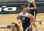 """Video: 'Liepāja/LSSS"""" basketbolistes EWBL sezonu noslēdz ar zaudējumu"""