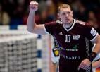 Handbolisti debiju Eiropas čempionātā noslēdz ar minimālu zaudējumu