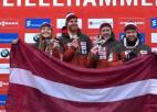 Septīto gadu pēc kārtas Latvijai medaļa Eiropas čempionātā komandu stafetē