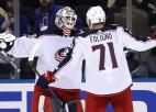 Top 5 Latvijas hokejistu debijas NHL: trīs vārtsargi, Ozoliņš un Zemgus