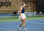 Tomase uzvar Vismanes pāridarītāju un ITF debijā sasniedz finālu Liepājā