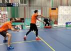 Video: Par Latvijas čempioniem badmintonā dubultspēlēs kļūst Pauls Gureckis un Kārlis Vidass