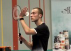 Video: Podosinoviks paliek Latvijas badmintona čempiona tronī