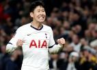 """""""Spurs"""" spēles galotnē atspēlējas un izrauj vietu Anglijas FA kausa 1/8 finālā"""