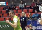 """Video: """"Jēkabpils Lūši"""" no Jelgavas pārved mājās uzvaru trīs setos"""