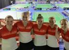 Latvijas sieviešu badmintona izlase Eiropas čempionātu sāk ar uzvaru pār Portugāli
