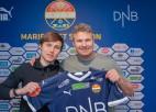 Jānis Ikaunieks parakstījis līgumu ar bijušo Norvēģijas čempioni