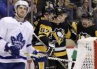 """Bļugers vēlreiz tiksies ar """"Maple Leafs"""", Merzļikinam atkal """"Flyers"""" pārbaudījums"""