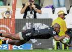 """""""Sharks"""" pārspēj """"Stormers"""" un piespiedu pauzi sagaida kā """"Super Rugby"""" līderi"""