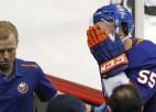 Atsākoties NHL sezonai, ar slidu seju sagriezušais Boičaks atgriezīsies laukumā