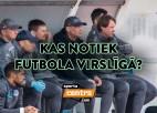 """Šovakar """"Sporta tarkšķī"""": futbola Virslīgas aktualitātes un sezonas sākuma cerības"""