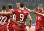 """Minhenes """"Bayern"""" –  Bundeslīgas čempione astoto gadu pēc kārtas"""