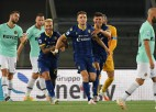 """""""Inter"""" atkal zaudē punktus un noslīd uz ceturto vietu"""