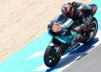 """Markesam smags kritiens, Kvartararo izcīna pirmo """"MotoGP"""" uzvaru"""
