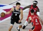 """""""Kings"""" pirmajā ceturtdaļā iemet 49 punktus un izārda """"Pelicans"""" aizsardzību"""