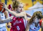 """Starta piecinieks karsts uzbrukumā, U16 meitenes noskrien Lietuvas """"balto"""" komandu"""