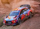 Akmeņainais Turcijas WRC rallijs iesākas ar Noivila ātrāko laiku treniņos