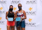 Darja Semeņistaja ar divām mačbumbām zaudē ITF dubultspēļu finālā Tunisijā