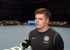 """Video: Akmeņlauks: """"Jau otro spēles pēc kārtas atdodam pretiniekam golus"""""""