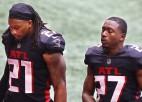 """""""Falcons"""" atkal izgāžas pēdējā ceturtdaļā, """"Chiefs"""" pārliecinoši pārspēj """"Ravens"""""""