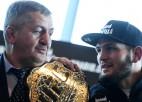 """UFC prezidents runājis ar Habibu: """"Man ir sajūta, ka viņš atgriezīsies"""""""