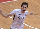 """Video: """"RSU/BAO-Dobele"""" izcīna uzvaru, atspēlējoties no 0:2"""