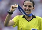 Frapāra kļūst par pirmo sievieti, kas nozīmēta par galveno tiesnesi Čempionu līgas mačam