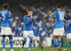 ''Napoli'' un ''Real Sociedad'' spēlē neizšķirti un izkļūst no F grupas Eiropas līgā