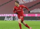 """""""Bayern"""" izcīna uzvaru un nostiprinās Bundeslīgas līderpozīcijā"""