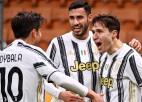 """""""Juventus"""" aizraujošā spēlē sagādā """"Milan"""" pirmo zaudējumu A sērijā"""