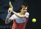 Bubļiks ceturtdaļfinālā pieveic Antaljas turnīra pirmo numuru Berretīni