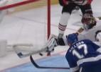 Video: NHL atvairījumos triumfē M. Subens