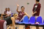 Foto: Latvijas sieviešu un vīriešu basketbola izlases briest Pasaules kausam