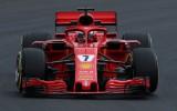 Foto: Kā jaunie F1 bolīdi izskatās trasē?