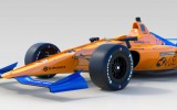 "Foto: ""McLaren"" atrāda Alonso formulas jauno dizainu"