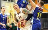 """Foto: """"Barons/LDz"""" basketbolisti apliecina pārākumu pār BK """"Saldus"""""""