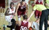 """Foto: """"Barons/LDz"""" basketbolistiem zaudējums no Raplas komandas"""
