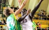 """Foto: """"Barons/LDz"""" basketbolisti netiek pie pirmās uzvaras savā laukumā"""